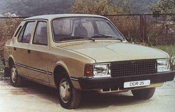 Škoda – Wartburg -Trabant