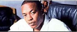 Rapper Dr. Dre aka Andre Young