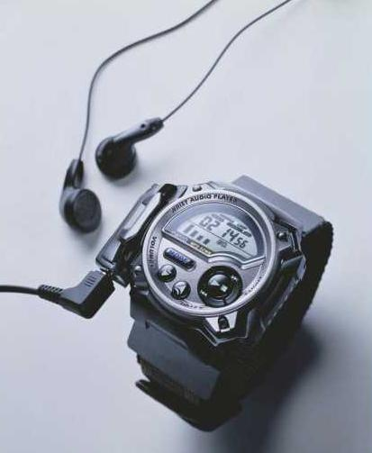 Casio Wrist Audio Player