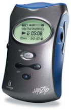 HipZip MP3 přehrávač