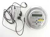 CD Walkman Sony s příslušenstvím