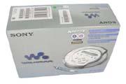 Krabice pro CD Walkman Sony