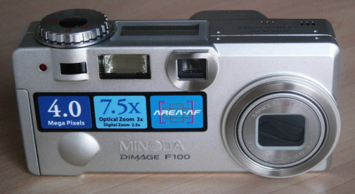 Digitální fotaparát Minolta Dimage F100