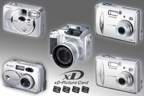 Rodina digitálních novinek od Fujifilm