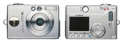 Digitální fotoparát Canon Ixus V3
