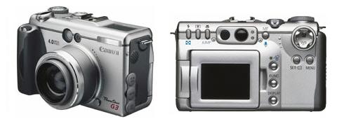 Digitální fotoparát Canon PowerShot G3