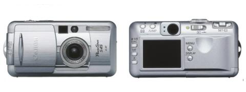 Digitální fotoparát Canon PowerShot S45