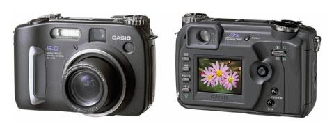 Digitální fotoparát Casio QV-5700