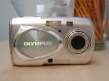 Fotoaparát Olympus μ 300 Digital