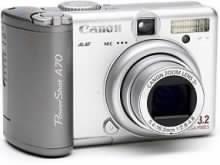 Digitální fotoaparát Canon A70