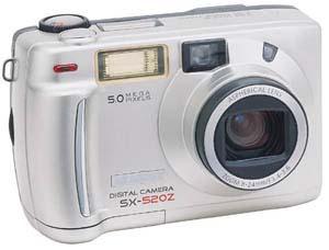 Digitální fotoparát Skanhex SX-520Z
