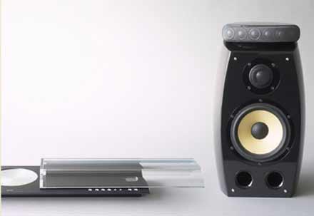 High-endový audiosystém Sony QUALIA 007