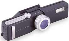 Digitální fotoparát Sony QUALIA 016 s modulem blesku