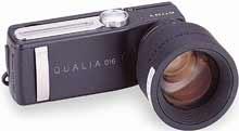 Digitální fotoparát Sony QUALIA 016 s teleobjektivem