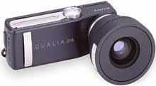 Digitální fotoparát Sony QUALIA 016 s wideobjektivem