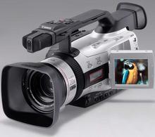 Poloprofesionální 3CCD kamera