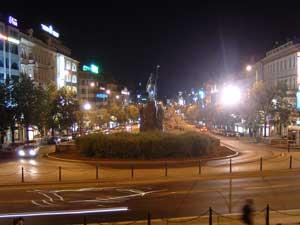 Noční fotografie Fujifilm FinePix A303