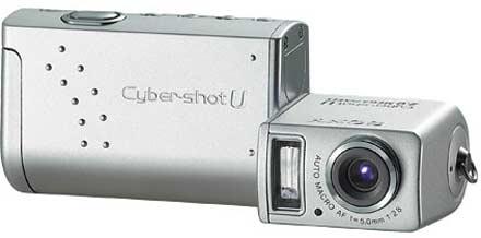 Digitální fotoparát Sony DSC-U50