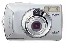 digitální fotoparát Sanyo new Xacti DSC-S1