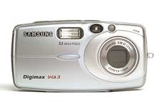 Digitální fotoaparát Samsung Digimax U-CA 3