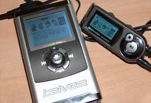 iRiver iHP-100 s dálkovým ovládáním