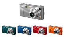 Digitální fotoaparát Panasonic Lumix DMC-FX1 a FX5