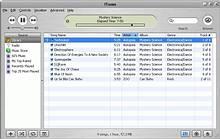 Přehrávání skladeb ve formátu AAC v iTunes pro Windows