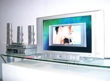 30'' LCD a domácí kino s rekordérem