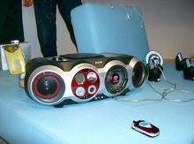 Audio systém koncepce Connected Planet