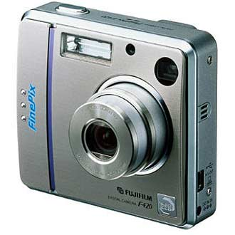 Digitální fotoaparát Fujifilm FinePix F420 zoom