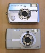 Epson PhotoPC L-300 vs Minolta DiMAGE E323