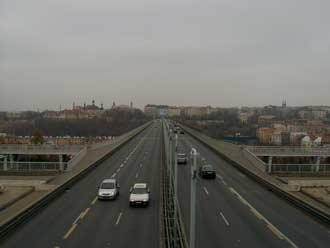 Samsung Digimax V4 - fotografie mostu