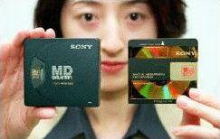 Nový Sony MiniDisc
