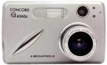 Digitální fotoaparát Concord Eye-Q 4360z