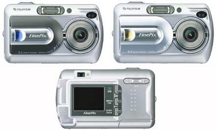 Digitální fotoaparáty Fujifilm Finepix A330 Zoom a A340 Zoom