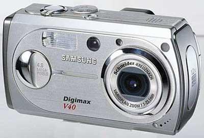 Digitální fotoaparát Samsung Digimax V40