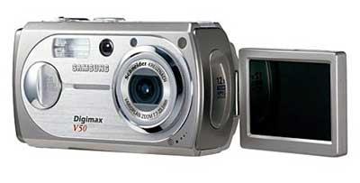 Digitální fotoaparát Samsung Digimax V50