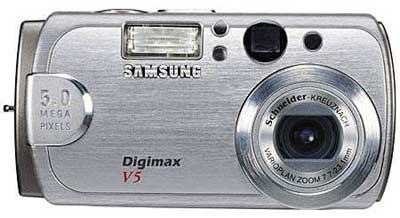 Digitální fotoaparát Samsung Digimax V5