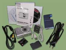 Digitální fotoaparát Canon Ixus 430 - výbava