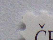 Canon Ixus 430 - ISO 400, do bílé se již vloudily zřetelné barevné pixely