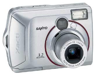 Digitální fotoaparát Sanyo Xacti DSC-S3