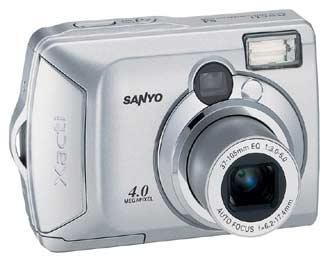 Digitální fotoaparát Sanyo Xacti DSC-S4