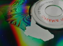 sloupané CD