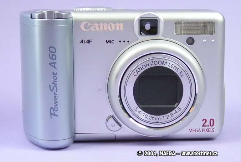 Digitální fotoaparát Canon PowerShot A60