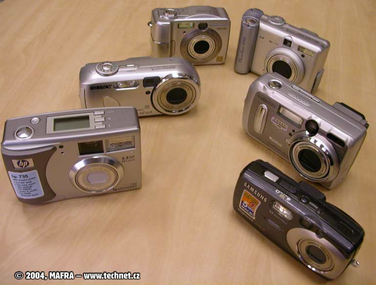 Digitální fotoaparát Samsung Digimax U-CA3