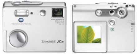 Digtální fotoaparát Konica Minolta X31