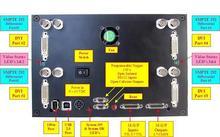 zadní část kamery QuadHDTV od ISG