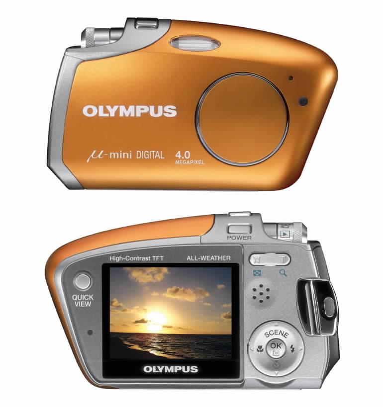 Digitální fotoaparát Olympus Mju mini DIGITAL