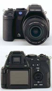 digitální fotoaparát Konica Minolta Dimage A200