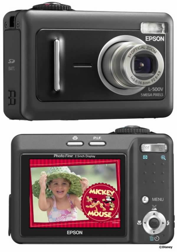 Digitální fotoaparát Epson L500V